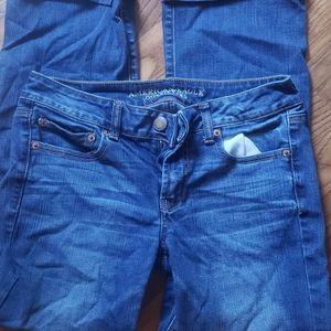 American Eagle Jean's.